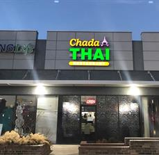 Chada Thai Lighted Channel Letters