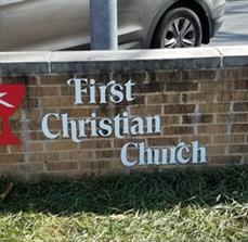 First Christian Church Dimensional Letters