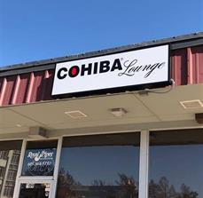 Cohiba Lounge Lighted Box Sign