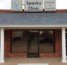 Sparks Clinic Pan Sign Face