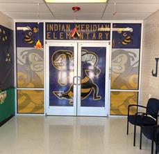 Indian Meridian Elem Window Graphics