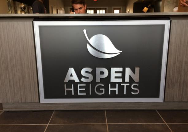 Signs Branding And Wayfinding For Apartment Property