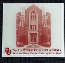 OU School of Social Work Acrylic Interior Plaque