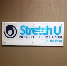 Stretch U Acrylic Wall Sign