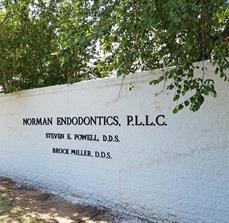 Norman Endodontics Exterior Dimensional Letters