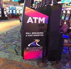 Riverwind Casino ATM Graphic