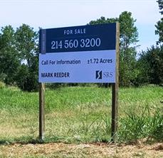 Real Estate Temporary Site Sign