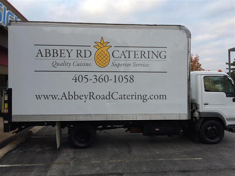 Abbey Road Catering Vehicle Wrap