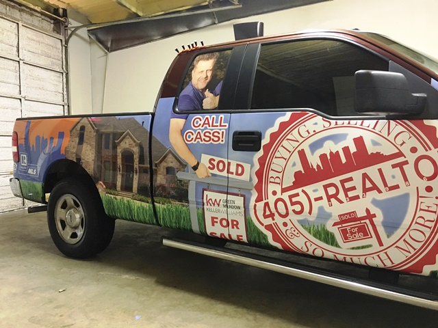 Michael Casserati Vehicle Wrap
