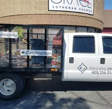 Landscape and Construction Truck Graphics