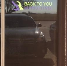 Back to You Marketing Window Graphics
