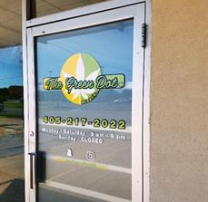 Retail Front Door Graphics