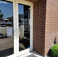Front Door Graphics and Lettering