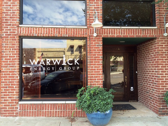 Warwick Energy Window Graphic