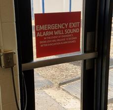 YMCA Door Graphics
