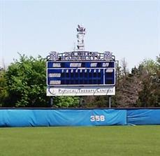 Sponsor name on Scoreboard