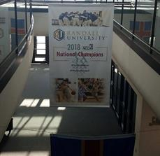 Randall University National Champions Banner