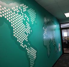 Sitel Customized Wall Graphics