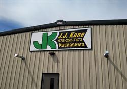 Framed Aluminum Building Sign