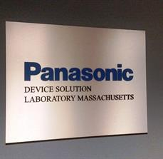 Dimensional Letters on Brushed Aluminum Panel