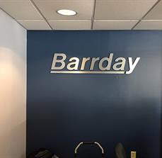 Barrday Dimensional Lettering