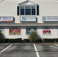 Northboro Canine Perforated Window Graphics