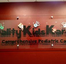 QKK Acrylic Building Sign