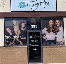 Salon Exquisite Updated Store Front