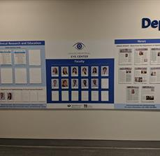 Umass Memorial Informational Display