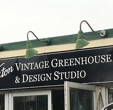Exterior Greenhouse Sign