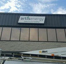 Artisenergy Building Signage