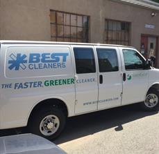 Best Cleaners Vehicle Graphics