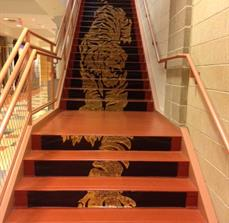 "Daniel Hand High School ""Nite in Hand"" Tiger Floor Graphic"