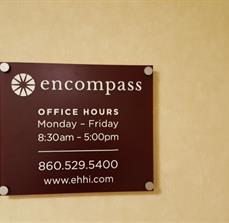 Encompass Office Hours Sign