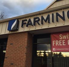 Farmington Bank Sign