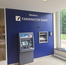 Farmington Bank Dimensional Letters
