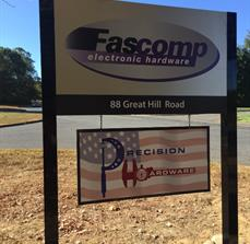 Fascomp Post and Panel Sign