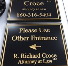 R. Richard Croce Attorney at Law Wayfinding