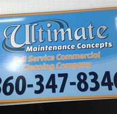 Ultimate Maintenance Concepts Signage