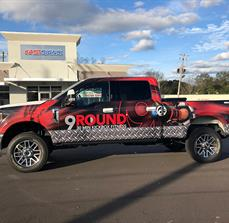 9 Rounds Truck Wrap