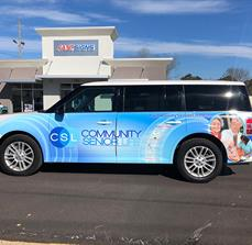 Community Senior Life Vehicle Wrap