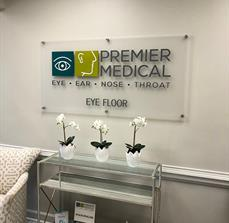 Premier Medical Acrylic Sign