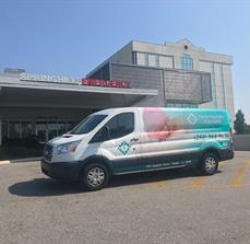 Spring Hill Medical Van Wrap