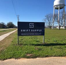 Swift Supply Site Sign