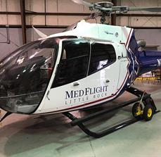 Med Flight Helicopter Graphics