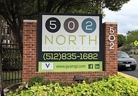 GVA Property Management  - 502 North Monument Sign
