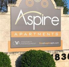 San Antonio Apartment Monument Sign