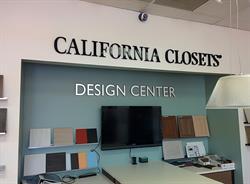 California Closets Dimensional Letters