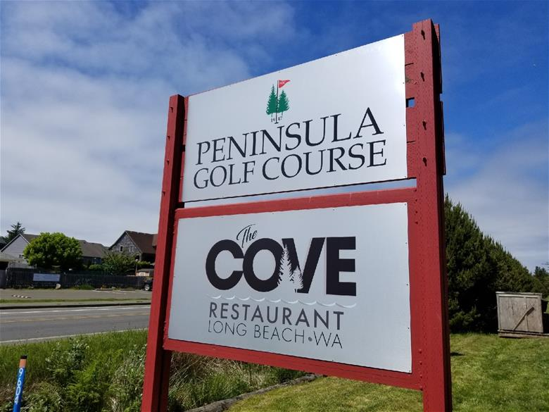 Golf Course Alupanel Sign