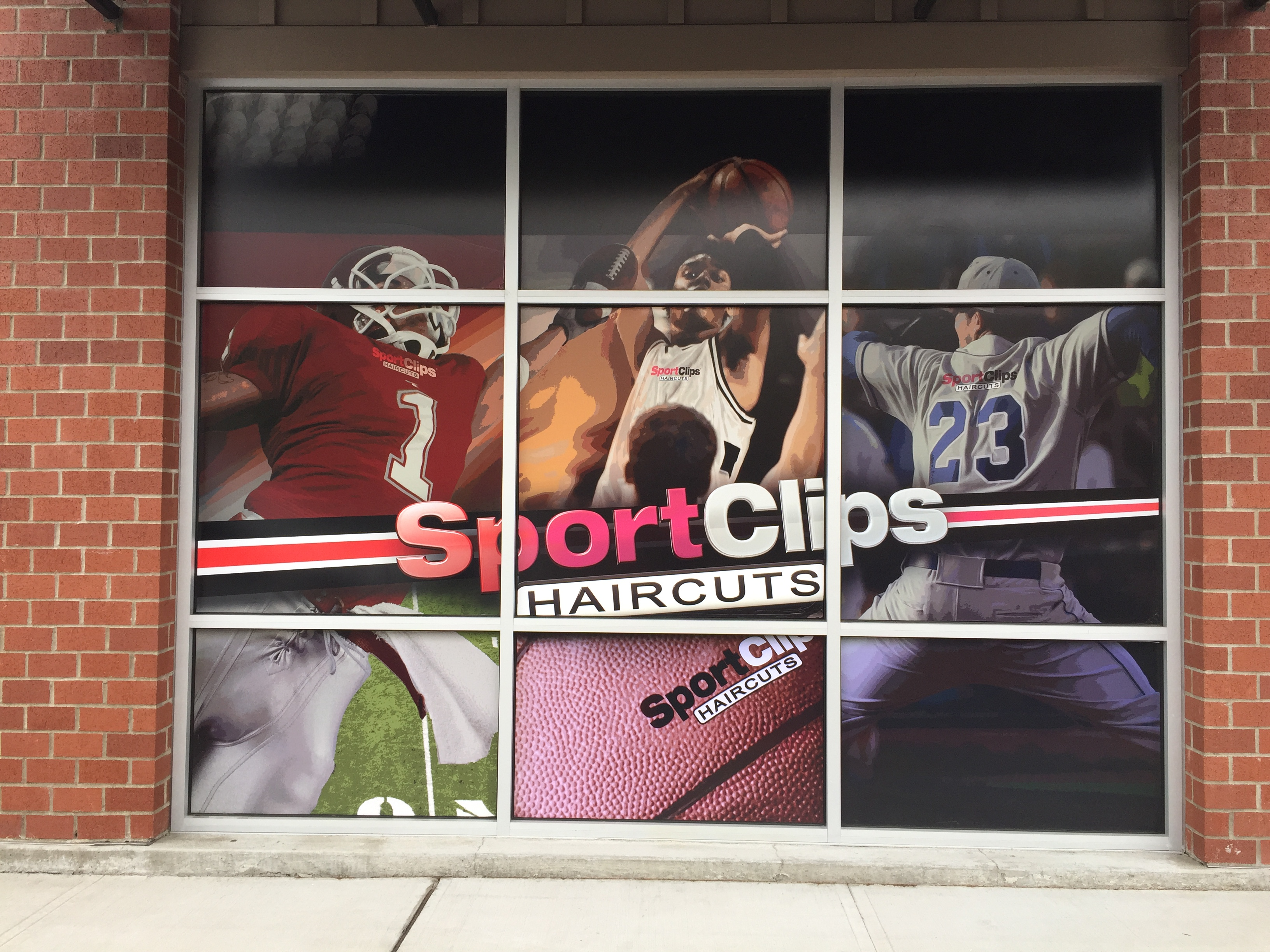 Full Color Window Graphics